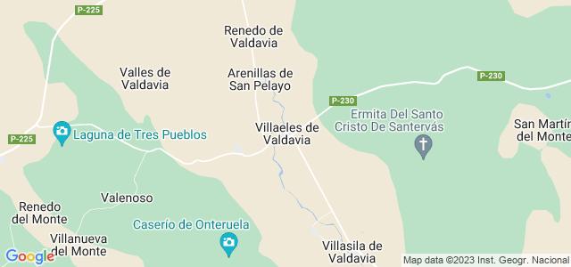 Mapa de Villaeles de Valdavia