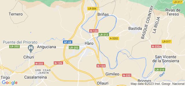 Mapa de Haro