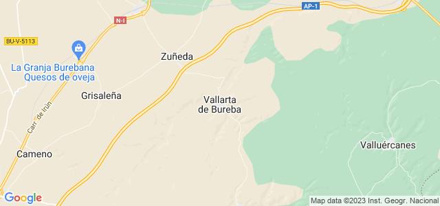 Mapa de Vallarta de Bureba