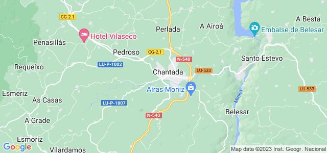 Mapa de Chantada