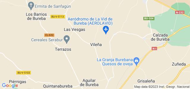Mapa de Vileña