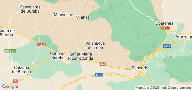 Mapa de Villanueva de Teba