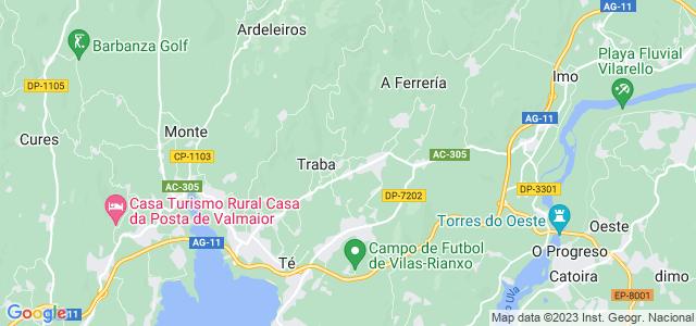 Mapa de Capela