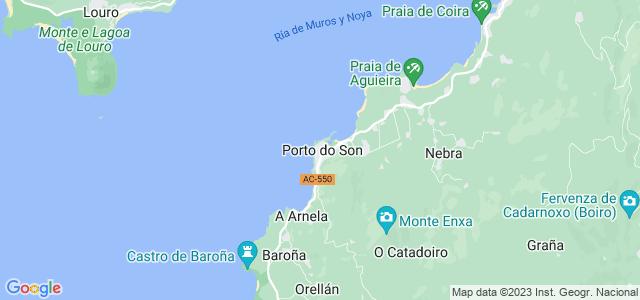 Mapa de Porto do Son