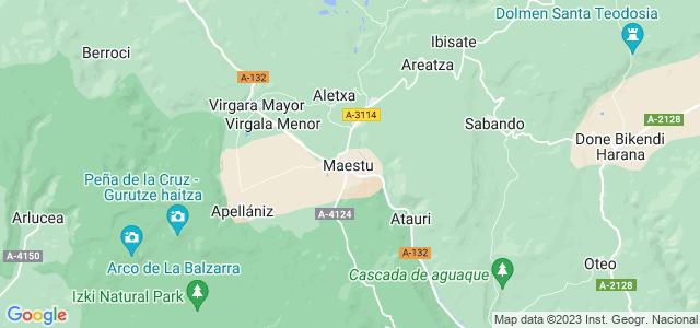 Mapa de Arraia-Maeztu