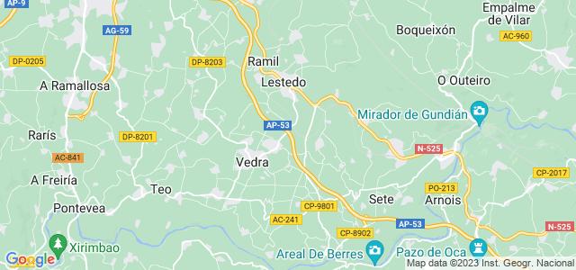 Mapa de Vedra
