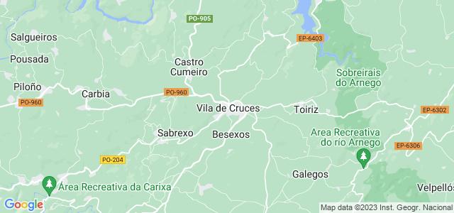 Mapa de Vila de Cruces