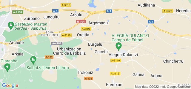Mapa de Elburgo - Burgelu