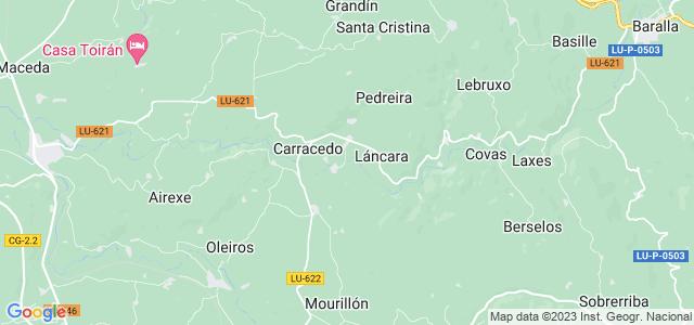 Mapa de Láncara