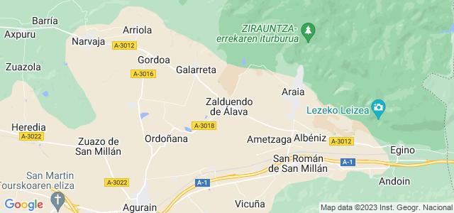 Mapa de Zalduondo