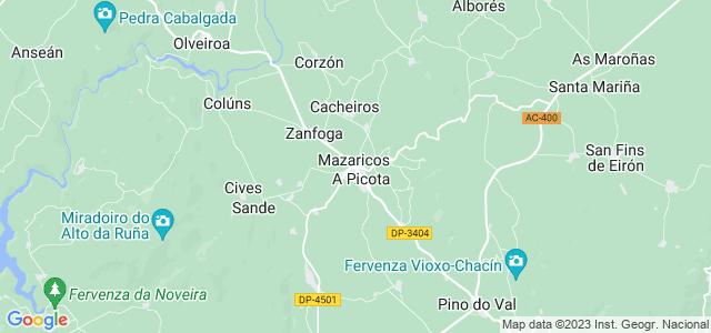 Mapa de Mazaricos