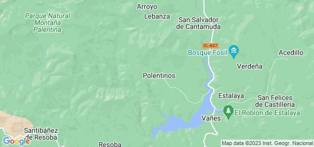 Mapa de Polentinos