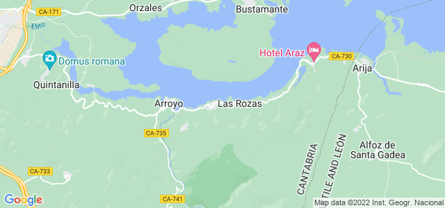 Mapa de Rozas de Valdearroyo