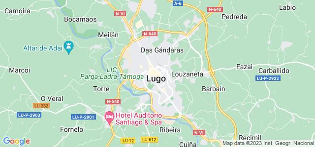 Mapa de Lugo