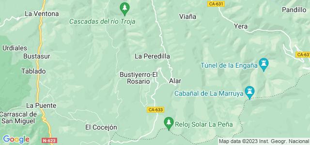 Mapa de San Pedro del Romeral