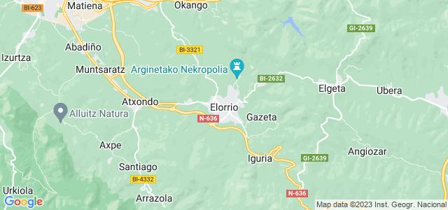 Mapa de Elorrio