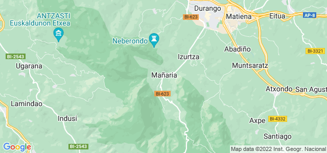 Mapa de Mañaria