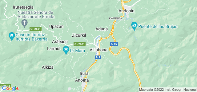 Mapa de Villabona