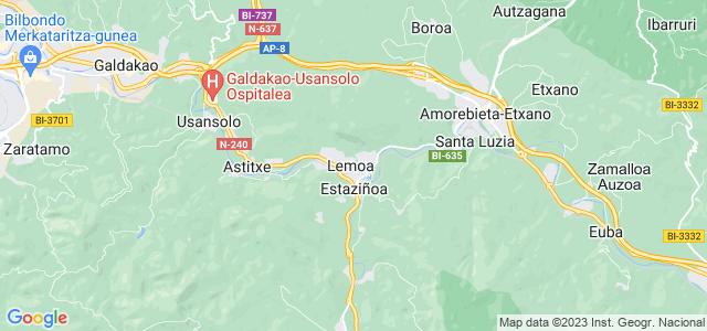 Mapa de Lemoa