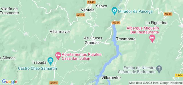 Mapa de Grandas de Salime