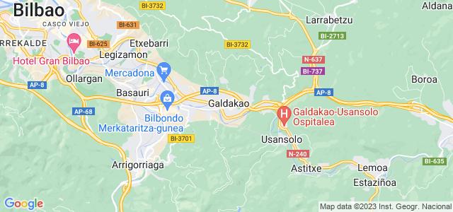 Mapa de Galdakao