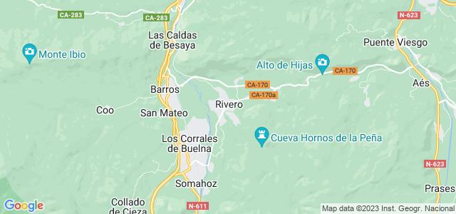 Mapa de San Felices de Buelna