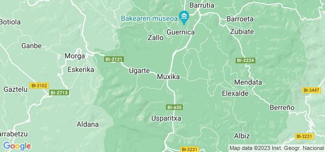 Mapa de Muxika