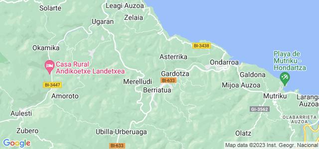 Mapa de Berriatua