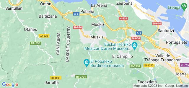 Mapa de Muskiz