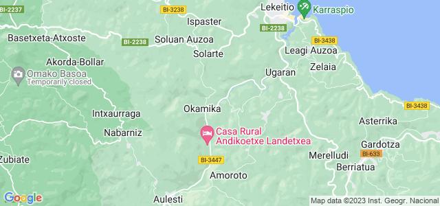 Mapa de Gizaburuaga
