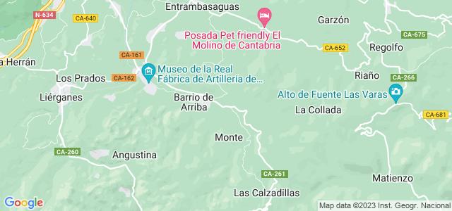 Mapa de Riotuerto