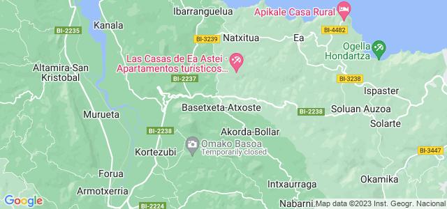 Mapa de Ereño
