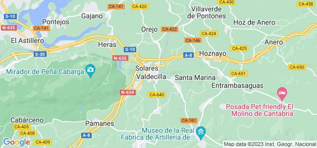 Mapa de Medio Cudeyo