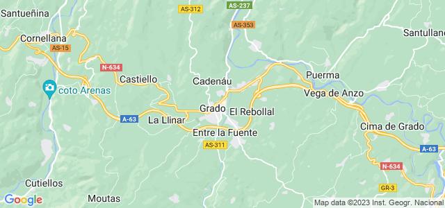 Mapa de Grado