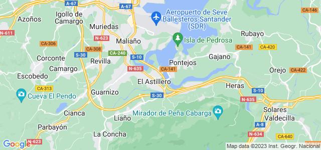 Mapa de Astillero