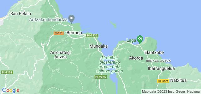 Mapa de Mundaka