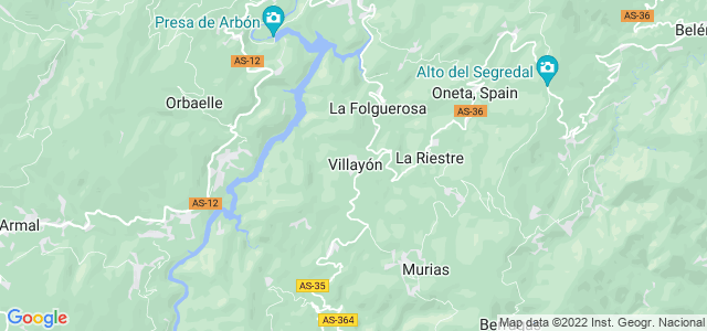 Mapa de Villayón