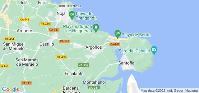 Mapa de Argoños
