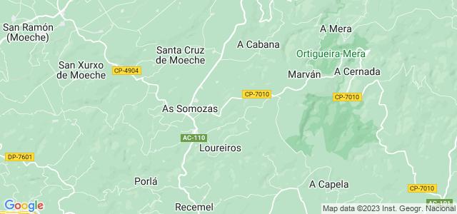 Mapa de Somozas