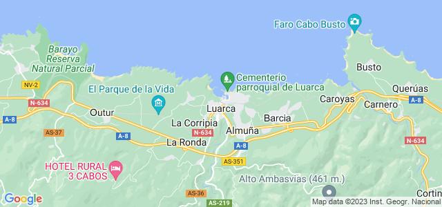 Mapa de Valdés