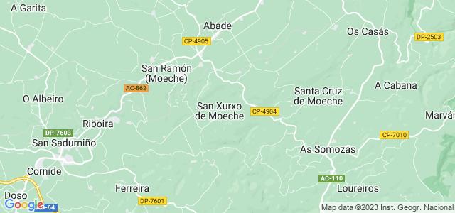 Mapa de Moeche