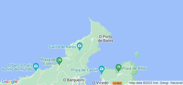 Mapa de Mañón